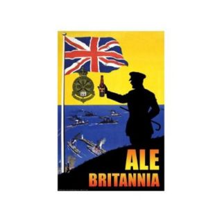 Ale Britannia Print (Unframed Paper Print 20x30)
