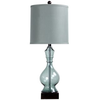 Casa Cortes Sea Glass 28 inch Handcrafted Table Lamp   16286430