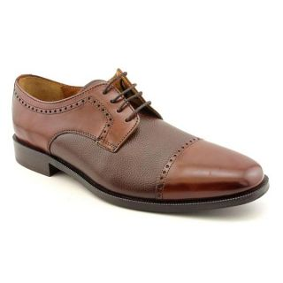 Bostonian Mens Ricardo Cap Toe Leather Dress Shoes