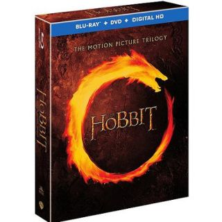 The Hobbit: The Motion Picture Trilogy (Blu ray + DVD + Digital HD With UltraViolet) (Widescreen)