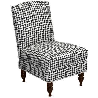 Skyline Furniture Berne Black Armless Nail Button Chair   18477095