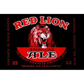 Red Lion Ale Wall Art by Buyenlarge