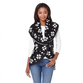 Jamie Gries Collection Snowflake Sweater Vest   7825241