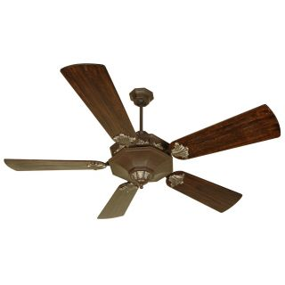 Craftmade BE60AGVM B554P WAL Beaumont 60 Fan   Walnut Blades Included