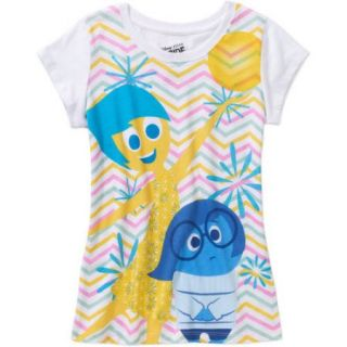 "Disney's Inside Out ""Joy & Sadness"" Girls' Short Sleeve Tee"