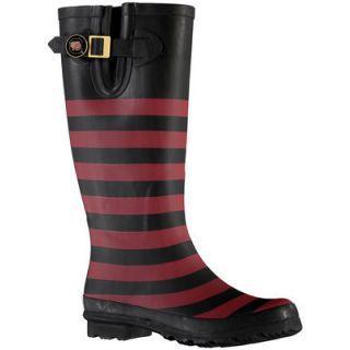 South Carolina Gamecocks Lillybee U Womens Rain Boots with Logo Snap