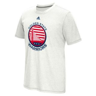 Golden State Warriors adidas Hoops For Troops climacool Aeroknit T Shirt   White