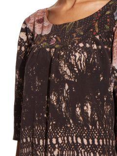 Zeta silk dress  By Walid US