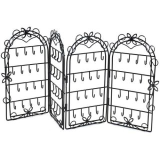 Everything Mary 4 Folding Screen Jewelry Holder