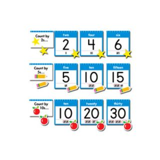 Creative Teaching Press 24 Piece Numbers Chart Set
