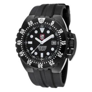 Luminox Men's Deep Dive Auto Black Polyurethane And Dial Movement: Automatic