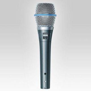 Shure BETA87A Super Cardioid Condenser Vocal Microphone BETA 87A