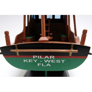 Old Modern Handicrafts Hemingway Pilar Model Boat