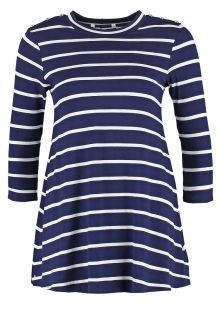 Dorothy Perkins Long sleeved top   navy blue