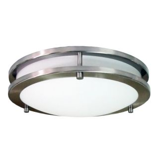 HomeSelects eLIGHT 16 inch Saturn Round Surface Mount Light   15666765