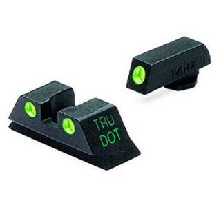 Meprolight Glock Tru Dot Night Sight Set for 9mm/.357 Sig/.40 S/W/.45 GAP ML10224