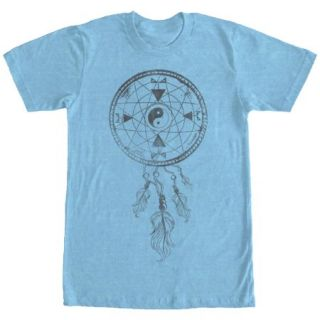 Lost Gods Dream Catcher Yin Yang Mens Graphic T Shirt   Fifth Sun