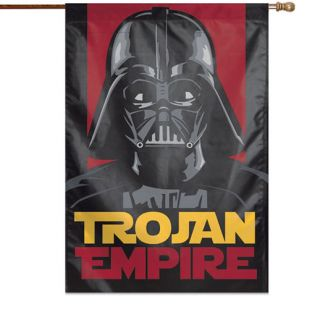 WinCraft USC Trojans 28 x 40 Star Wars Darth Vader Two Sided Vertical Banner
