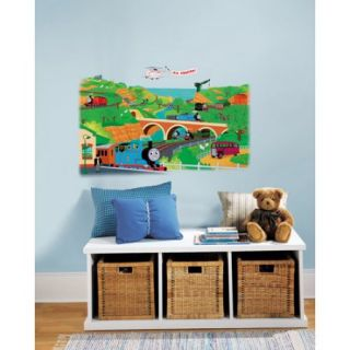 RoomMates   Thomas the Train Peel & Stick Giant Wall Decal