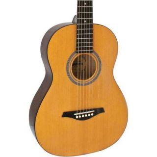 Hohner HW03 3/4 Size Steel String Rosewood Fretboard Acoustic Guitar, Natural