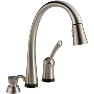 Delta Pilar Touch2O Stainless 1 Handle Pull Down Touch Kitchen Faucet