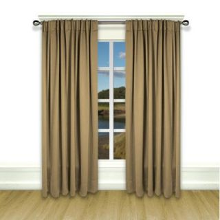 Ricardo Trading Ultimate Black Out Single Curtain Panel