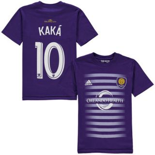 adidas Ricardo Kaka Orlando City SC Youth Purple Name & Number T Shirt