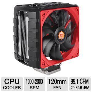 ThermalTake NiC C4 CPU Cooler   120mm, Intel LGA 2011, 1366, 1155, 1156, 1150, 775, AMD FM2, FM1, AM3+, AM3, AM2+, AM2, 2000 RPM,    CLP0607
