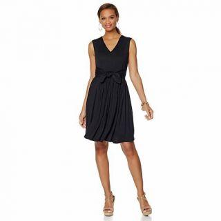 Samantha Brown Sleeveless Travel Jersey Dress   8043777