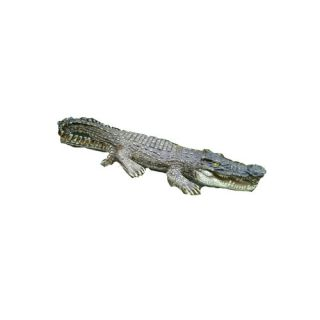 Crocodile Floater Statue by Hi Line Gift Ltd.