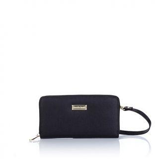 Samantha Brown Leather RFID Zip Around Wallet   8053726