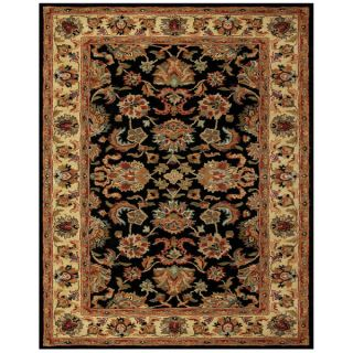 Feizy Tufted 100 percent Wool Pile Wakefield Rug in Black/Gold 3 6 x
