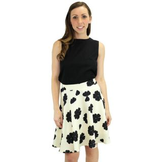 Relished Womens Lucy Cream Swing Skirt   Shopping   Top