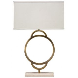 Arc 20 H Table Lamp With Rectangle Shade by Jamie Young Company