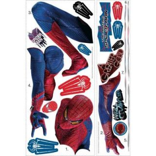 RoomMates Spiderman   Amazing Spider man w/Web Giant Peel and Stick Wall Decals DISCONTINUED RMK1934GM