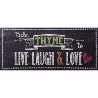 Take Thyme Poster Print by Jo Moulton (18 x 8)