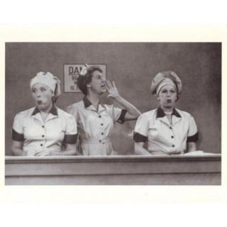 I Love Lucy Candy Factory Poster Print (10 x 8)