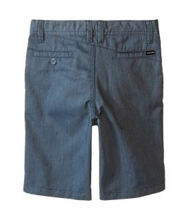 Volcom Kids Frickin Chino Shorts (Toddler/Little Kids) Airforce Blue Heather