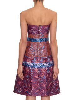 Kelly jacquard strapless dress  Mary Katrantzou