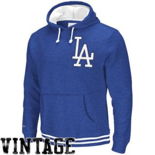 Mitchell & Ness L.A. Dodgers Cooperstown Collection Bat Around Pullover Hoodie   Royal Blue