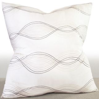 Linea Ivory Embroidered Euro Sham   17494511   Shopping