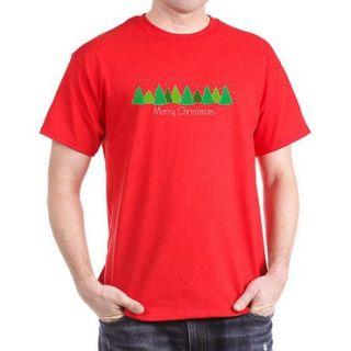 CafePress Big Men's Merry Christmas Dark T Shirt