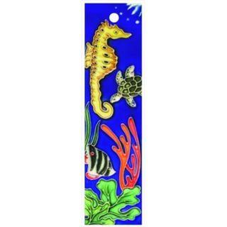 En Vogue NA 013 Aquarium Series Left   Decorative Ceramic Art Tile   House Number   2 inchx8. 5 inchEn Vogue