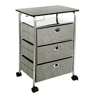 Richards Homewares 31.5 3 Drawer Eyelet Cart