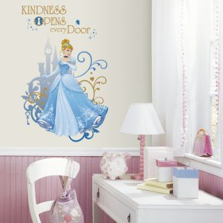 RoomMates Disney Princess Cinderella Large Wall Graphic Decal