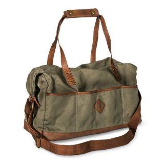 Mossimo Supply Co. Solid Weekender Duffle Handbag   Green