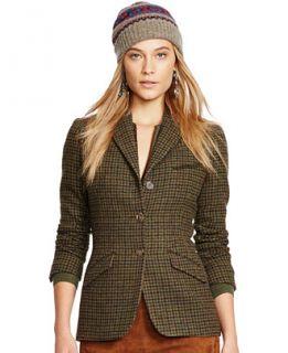 Polo Ralph Lauren Tweed Riding Jacket   Jackets & Blazers   Women