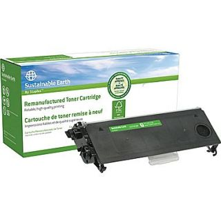 Sustainable Earth by Remanufactured Black Toner Cartridge, Brother TN 350