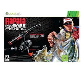 Rapala Pro Bass Fishing 2010 with Rod   Xbox 360 —