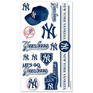New York Yankees Temporary Tattoos